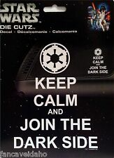 Star Wars Keep Calm and Join The Dark Side Auto Car Window Decal Sticker