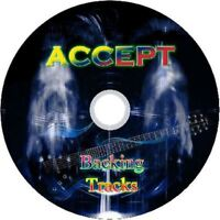 ACCEPT BACKING GUITAR BACKING TRACKS CD BEST GREATEST HITS MUSIC PLAY ALONG