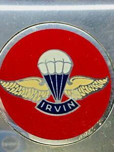 Vintage Seat Belt NOS NIB Irvin Model 66 Black Parachute Chevy Corvette Buick GM