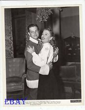 Barbara Stanwyck Robert Cummings VINTAGE Photo The Bride Wore Boots