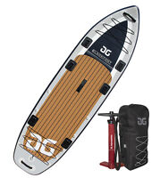 "Aquaglide Blackfoot Angler 11'0"" Inflatable Fishing SUP Paddle Board"