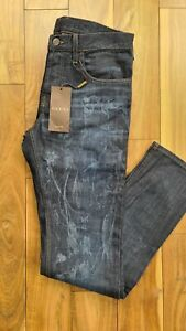 Gucci Floral Painted Jeans W 32 Italy 46 RRP £490 BNWT