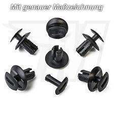 10x Plastik Radkasten Befestigung Clips für VW Skoda Seat | 2E1857784 6J0853379