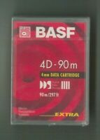 MICROCASSETTA BASF 4mm DATA CARTIDGE 90m/297FT ( 4D - 90m ) EXTRA