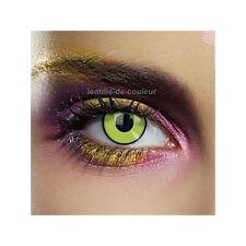 Lentille de couleur fantaisie festive Frankenstein - fancy color lenses
