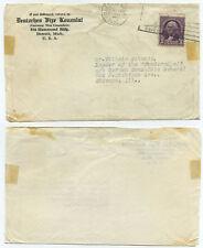 51205 - USA - Deutsches Vize Konsulat - Detroit 16.7.1932 nach Chicago