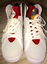 Nike Air Jordan 7 Retro Vll (Hare) (Bugs Bunny)White Grey Red Size 7