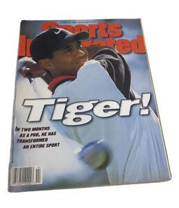 OCTOBER 28, 1996 SPORTS ILLUSTRATED PGA GOLF ROOKIE TIGER WOODS No Label