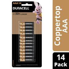 Duracell Coppertop Alkaline AAA Batteries 14pk