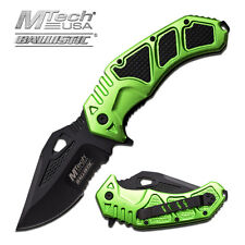 "BIG ASS POCKET KNIFE MTech USA Spring Assist Knife Serrated Blade 5"" Closed 73ZG"