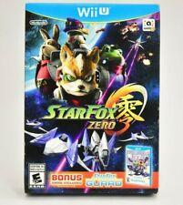 Star Fox Zero + Star Fox Guard (Wii U, 2016) CIB Complete