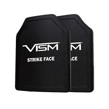"VISM Ballistic UHMWPE Soft Panel Shooters Cut 11""X14"" Body Armor Level IIIA SET"