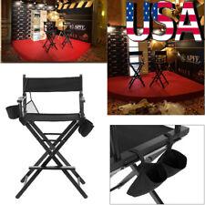 Professional Makeup Artist Director's Chair Wooden Lightweight Folding Beech US