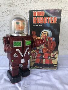 Mond Roboter - Lunar Spaceman 2001 Brohm Spielwaren mit OVP