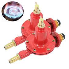 Propane Regulator High Pressure LP LPG Gas Burner Valve 0-30PSI Adjustable Fryer