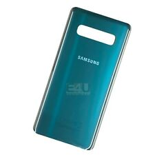 For Samsung Galaxy S10 Back Glass Rear Battery Cover - Prism Green