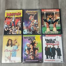New listing Lot of 6 Comedy Dvd Casual Sex Mallrats Mystery Men Adventures Babysitting etc.