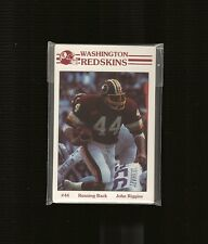 1985 Washington Redskins 16-card Police Set - NM - 4 Redskins HOF'ers