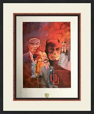 Gray Morrow -Dare Devil Signed & Numbered L/ED Lithograph NEWLY CUSTOM FRAMED