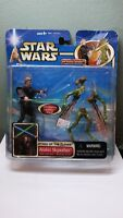Star Wars Attack Of The Clones Anakin Skywalker with Lightsaber, Slashing Action