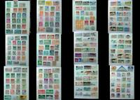 World Stamp Collection Luxembourg Switzerland And United States, Free Shipping