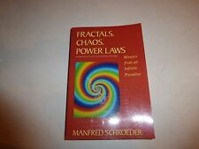 Fractals, Chaos, Power Laws: Minutes from an Infinite Paradise Manfred Schroe272