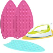 Portable Silicone Iron Rest Pad Ironing Board Protect Heat Resistant Dotted Mat