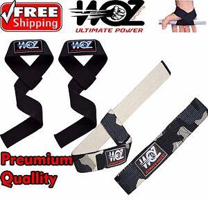 Weight Lifting Straps Power Wrist Bar Support Gym Body Bodybuilding Straps