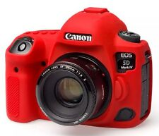 easyCover Canon 5D Mark IV Protective Camera Cover [Red] Silicone Free Shipping