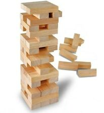 Wooden Towering Blocks Tumbling Tower Tumbling Towers Jenga Blocks Wooden New LG