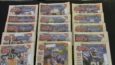 SPORTS WEEKLY 2003 2004 - LOT OF 43 Faulk, Rice, Clemens, Manning