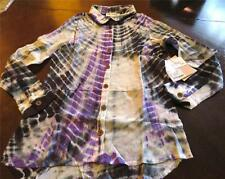 NWT Jak and Peppar Girl felicity Button Down Dazed Purple Top Shirt 16 Tween