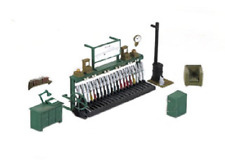 Ratio 553 Signal Box Interior Kit (Unpainted) OO Gauge