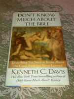 Don't Know Much about the Bible by Kenneth C. Davis (1998, Hardcover) #bh