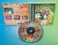 Gold and Glory Road to El Dorado -  Playstation 1 2 PS1 PS2 Rare Game Complete