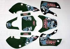 3M METAL MULISHA Decal Graphic Sticker KLX110 Fairing PIT PRO Dirt Bike Kit Set