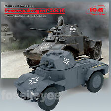 ICM 1/35 PANZERSPAHWAGEN P 204 (F) WWII GERMAN ARMORED CAR