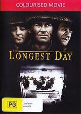 The Longest Day ( COLORIZED John Wayne ) - New Region All DVD