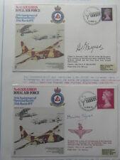 2 x FDC ROYAL AIR FORCE No48 SQUADRON 30th ANNIVERSARY OP. VARSITY 24 03 1975