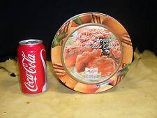 Decorative Apricot Pecan Cake Tin Collin Street Bakery Corsicana, TX Dia. 7 ¼