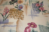 NEW Fabric ~ Thick beautiful flowered Material / Fabric {Price is per yard}