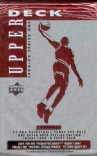 1994-95 Upper Deck NBA Trading Cards 9 Sealed 12 Card Retail Packs-Series 1
