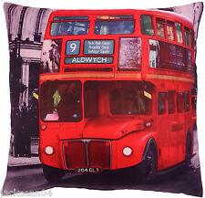 SUPERBE ROUGE LONDRES HYDE PARK TRAFALGAR GRAND BUS HOUSSE DE COUSSIN