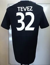 MANCHESTER CITY 2010/11  S/S AWAY SHIRT TEVEZ  32 BY UMBRO SIZE 42 INCH NEW