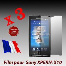 Lot 3 x Film protection ecran Sony Ericsson XPeria X10 -  QUALITE  GARANTIE