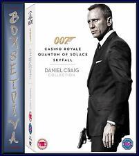 Daniel Craig 007 Triple Pack: Casino Royale / Quantum of Solace / Skyfall *NEW*