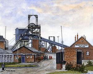 Prince of Wales Colliery - 1869 - 2002 - Ltd Ed Print - Pit Pics - Coal Mining