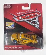 NOVITA' CARS 3 Disney pixar DINOCO CRUZ RAMIREZ 51 + card 2017 RARO mattel