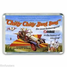 RETRO CORGI TOY ADVERT ARTWORK- CHITTY CHITTY BANG BANG JUMBO FRIDGE MAGNET