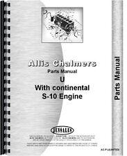 Allis Chalmers U Tractor Parts Manual